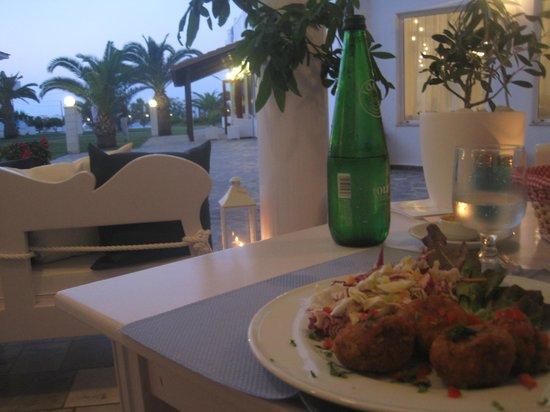 Chryssana Beach Hotel: cena