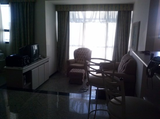 Brasilia Small Town Flat Service: sala do flat