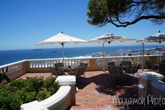 Ellerman House: Seating Area with a View