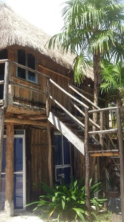 Amelie Tulum: Typical Mayan cottage