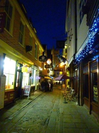 Cafe Mauresque : Café Mauresque in Butchery Lane