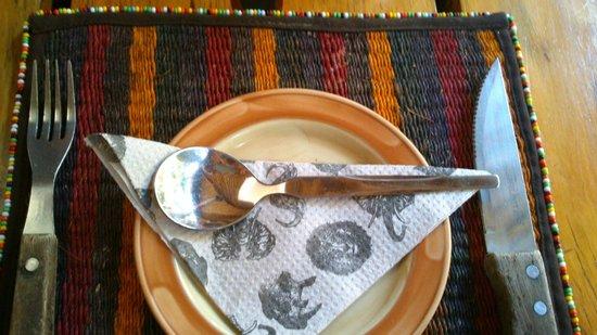 The Carnivore Restaurant: Cubiertos