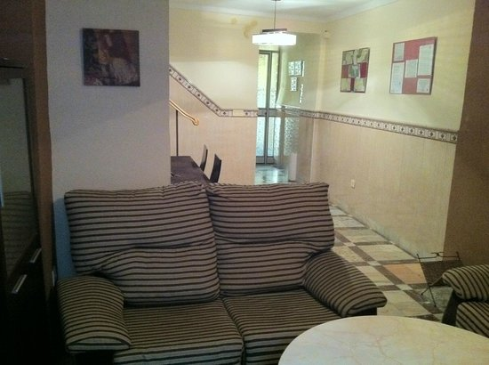 Hospederia Sol Castilla: salon
