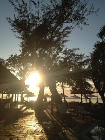 Griya Santrian: The sunrise