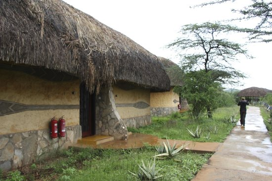 Samburu Sopa Lodge: Cabaña exterior