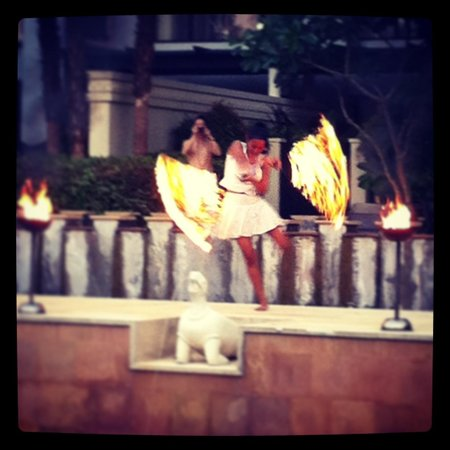 Marriott's Mai Khao Beach - Phuket: Poolside Fire Dance