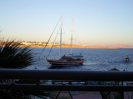 Lido Sharm Hotel: View from room