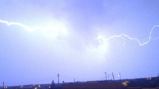 Ramla Bay Resort : Lightnin Storm