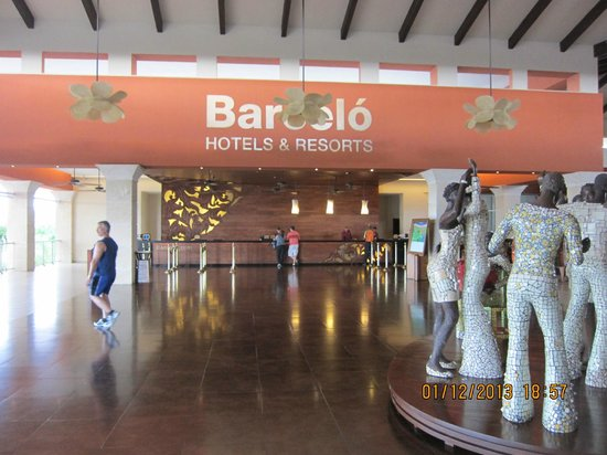 Barcelo Bavaro Palace : reception