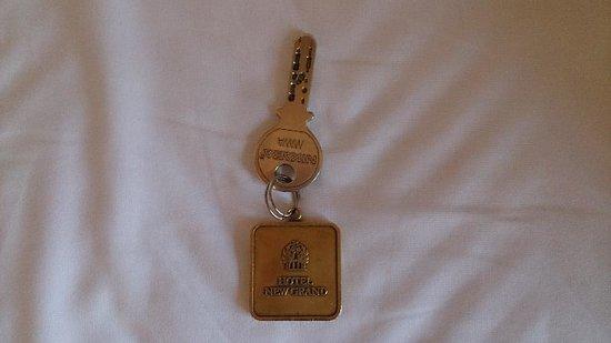 Hotel New Grand: レトロな鍵