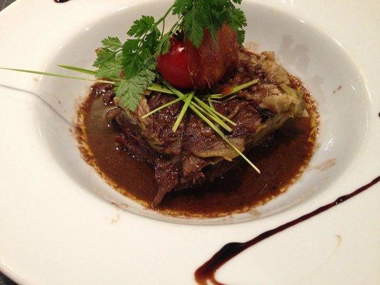 L'Agapée: Joue de bœuf / légumes