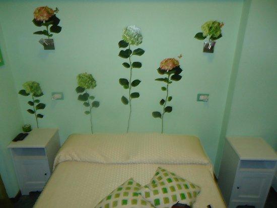 Bed & Breakfast Rhome86: cama