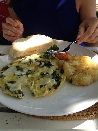 Sand Beach Club & Restaurant: My sister's meal