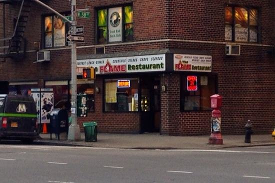 The Red Flame Diner : A Very Welcome Sight