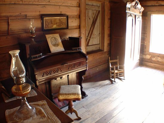 Forest Capital Musem: living room