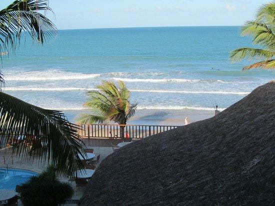 Manary Praia Hotel: Vista da sacada do apartamento