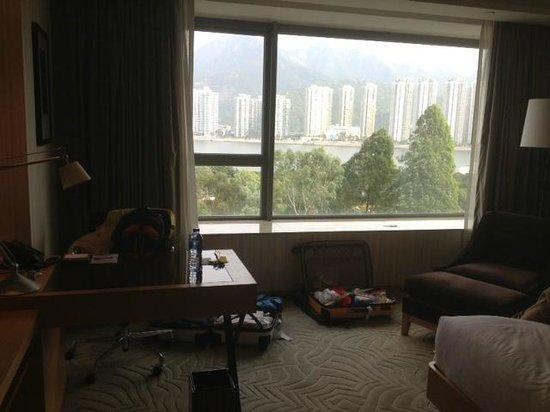 Hyatt Regency Hong Kong Sha Tin : view from room