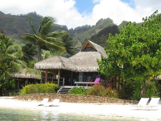 InterContinental Moorea Resort & Spa : Our Beach Bungalow!