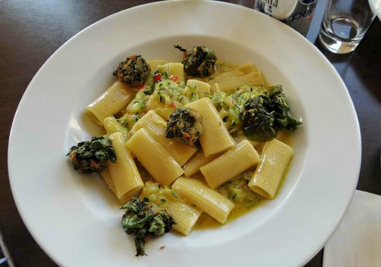 Carluccio's: The milanese dish with spinach balls