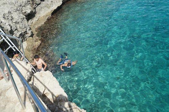 Aquanautas: Grande piscina azul