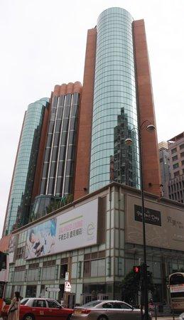 Eaton, Hong Kong : Hotel outside view