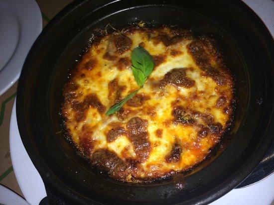 Il Forno Siem Reap: eggplant parmesan