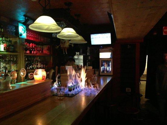 Victory Pub: Б-53 на барной стойке