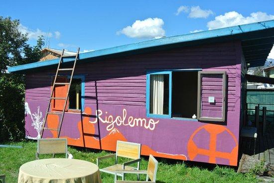 Rigolemo Hostal: Our cabin