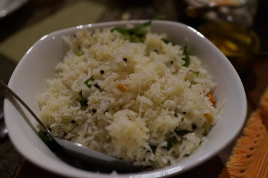 Dakshin's : coconut rice