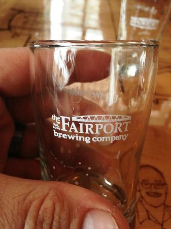 Fairport Brewing Company: Keep the glass!