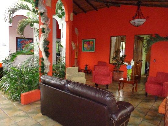 Hotel Mountain Paradise : lobby reception