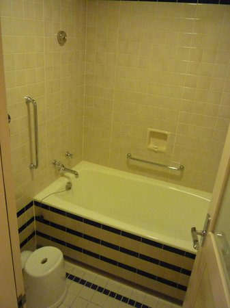 Disney Ambassador Hotel: 浴槽あります.
