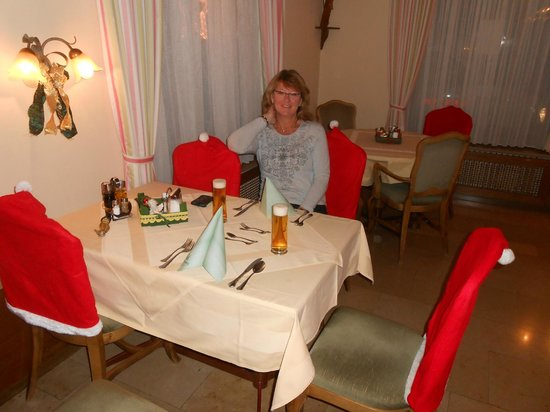 Hotel Stefanihof: Abendessen im Speisesaal