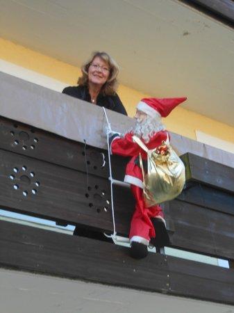 Hotel Stefanihof: Balkon vom Hotel