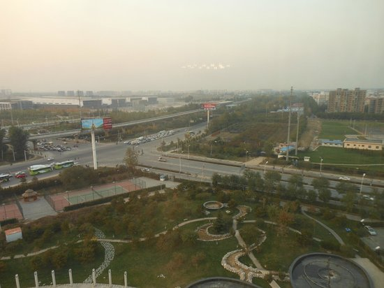 Crowne Plaza Beijing International Airport : Only 10 minutes from the airport. Convention center view.