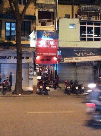 Gecko - street view
