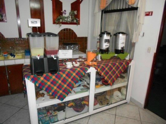 Hotel Inca Real: BREAKFAST AREA