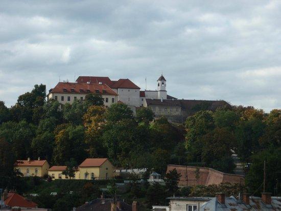 Barceló Brno Palace : Vista desde la habitación - Castillo de Brno