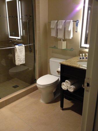 Fairfield Inn & Suites New York Midtown Manhattan/Penn Station : Big bathroom!