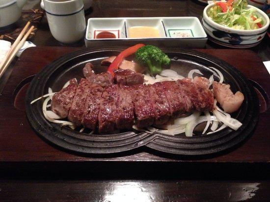 Gyuan: Kobe sirloin