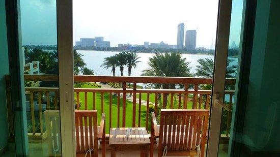 Park Hyatt Dubai: view from our balcony