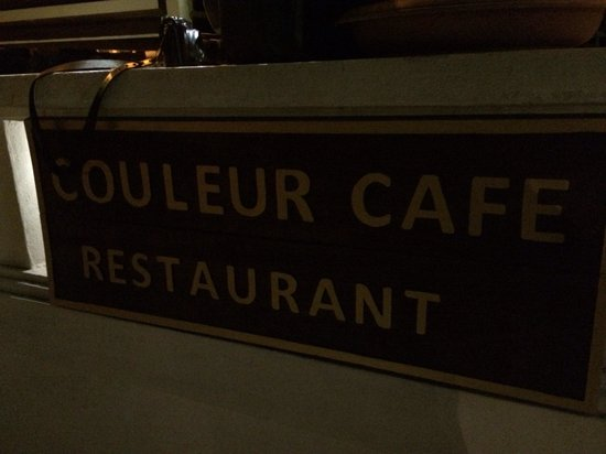 Couleur Cafe and Restaurant: Yummy!
