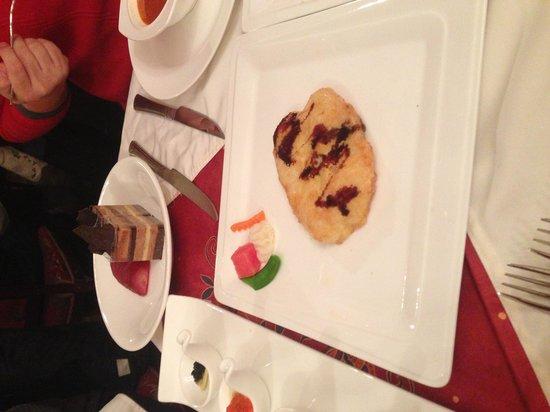Tatoc: Fish fillet that looks like harsh brown