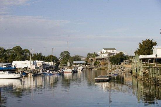 Keaton Beach Boat Channel