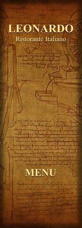 Leonardo Ristorante: A La Carte Menu