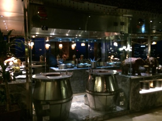 DoubleTree by Hilton Kuala Lumpur: Breakfast - Indian food section
