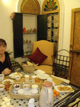 Dar el Bali : Copieux et savoureux petits dejeuners (très variés et différents tous les jours)