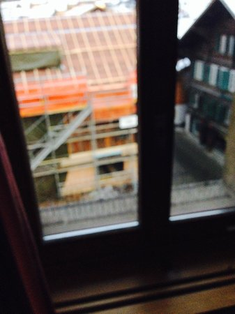 Hotel Landhaus: ROOM WITH UGLY VIEW EVERYWHERE, WE HAD 2 DIFFERENT ROOMS