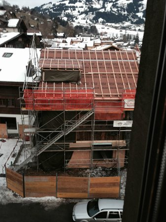 Hotel Landhaus : SURROUNDED BY CONSTRUCTION NICE