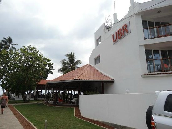 Unawatuna Beach Resort: The right side of the rest building